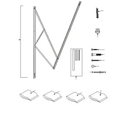 Dometic A Amp E 9100 Standard Power Awning Hardware