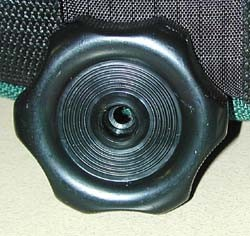 Plastic Knob Handle Black