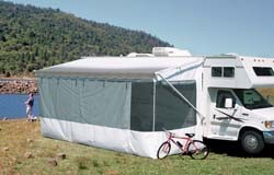 RV Awnings Screen Rooms By Carefree 16 Add A Room White