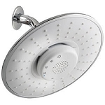 Rainfall Bluetooth Music Shower Head With Removable Speaker