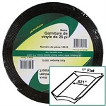 1 inch X 25 ft Vinyl Insert Black