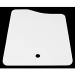 Lippert Sink Cover 25 Inch x 19 Inch White One Piece