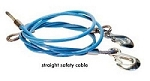 Trailer Safety Cable 8000 Pound Rating