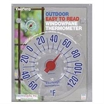 Optix Weather Station Window Pane Thermometer