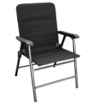 Elite Folding Chair, Black