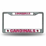 LOUISVILLE CHROME LICENSE  FRAME