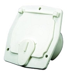 Access Door 2-27/32 Inch Cutout Dimension 4-5/16 Inch Height x 3-7/8 Inch Width x 1-3/4 Inch Collar Depth