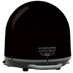 Black Winegard Carryout G2 Portable RV Satellite