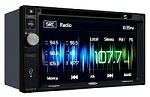 Jensen 2DIN AM/FM Multimedia Receiver with Built-In Navigation