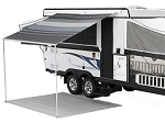 Carefree Campout Awning 2.5M Sierra Brown, 8'-5