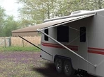 Vinyl Camper Patio Awning Roller 17'