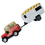 RV Toy Jeep and Trailer