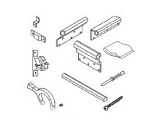 A&E Deluxe Slide Out Awning Mount Brackets Satin