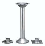RV Pedestal Table Leg 18 inch Leg w\o Base