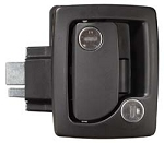 TRI Mark 60-251 Black Travel Trailer Door Lock