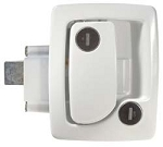 TriMark White Travel Trailer RV Lock
