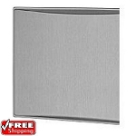 Dometic 3314289.030A Raised Aluminum Refrigerator Panels