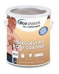 Dicor Fiberglass RV Roof Coating, 1 Quart