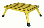Yellow Folding Safety Step