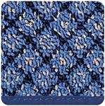 Step Huggers for Landing Steps 10 inch Ocean Blue