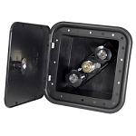 Phoneix Spray Port Outlet Box Black