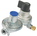 Camco Double-Stage Auto-Change Regulator