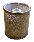 Barrel Lamp Shade Burlap