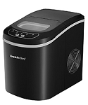 Franklin Chef Black Portable Ice Maker