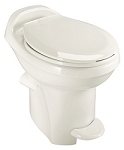Thetford Aqua-Magic Style Plus High Profile Without Water Saver RV Toilet Bone