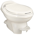 Thetford Aqua-Magic Style Plus Low Profile With Water Saver RV Toilet Bone