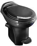 Thetford Aqua-Magic Style Plus High Profile With Water Saver RV Toilet Black