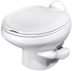 Thetford Aqua-Magic Style II Low Profile Without Water Saver RV Toilet White