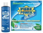 RV Waste Digester & Deodorizer, Enzyme, Pure Power Blue-4oz.