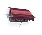 A&E Deluxe Plus Vinyl RV Window Awning, 36