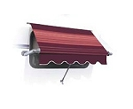 A&E Deluxe Plus Vinyl RV Window Awning, 72