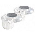 Replacement Catalina Faucet Handles, Clear