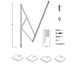 A&E 9100 Power Awning White Standard Hardware