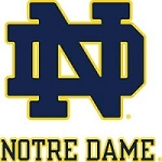 College Tire Cover, Notre Dame, Large, White