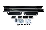 Fifth Wheel Trailer Hitch Mount Kit; UMS Series; Base Rail; Bolt-On; No Drilling Required