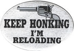 Keep Honking 2 Inch Hitch Cover