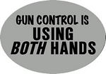 Gun Control 2 Inch Hitch Cover