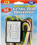 Heavy Duty 3-2 Solid State Taillight Converter with Harness