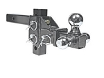 Eaz Lift Camper Adjustable Tri-Ball Ball Mount