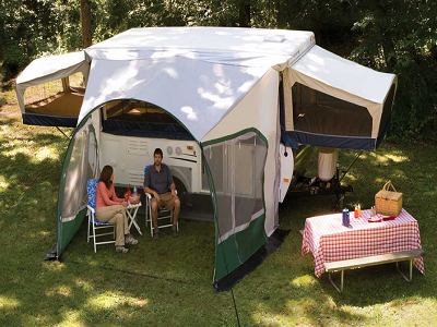 A&E Camper Cabana Dome Awnings