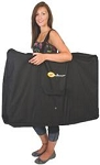 Chair Storage Bag, For Faulkner Standard And XL Recliners, Zipper Closure, Black, Vinyl Coated Polyester