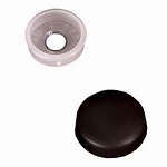 Screw Cover Black