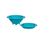 Collapsible Colander 3 QT Blue