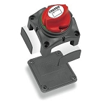 Battery Disconnect Switch, 275 Amp DC Continuous/ 455 Amp DC Intermittent/ 1250 Amp DC Cranking,  2-3/4 Inch Length x 2-3/4 Inch Width x 3 Inch Height