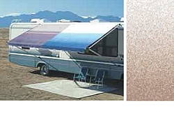 Rv Awning Vinyl Canopy Replacement, 17 ft, Camel Fade