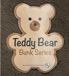 Teddy Bear Bunk Series Chocolate  32 Inch x 74 Inch